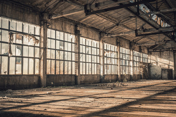 Empty Old Factory