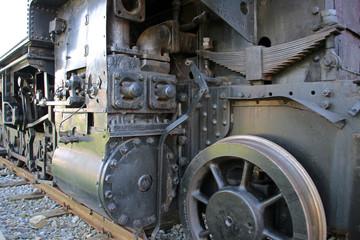 Wall Mural - Dampflokomotive Lipperland