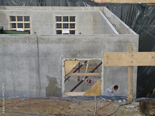neubau keller wei e wanne stockfotos und lizenzfreie bilder auf bild 95639640. Black Bedroom Furniture Sets. Home Design Ideas