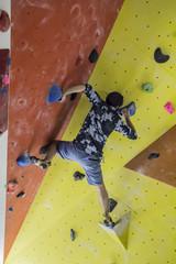 Boulderer / Kletterer
