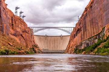 Photo sur Aluminium Barrage Glen Canyon Dam