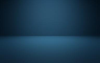 Vignette Dark Blue Studio Background