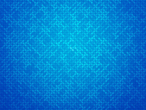 abstract blue linking dots background