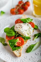 Fresh Healthy Breakfast