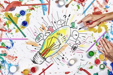 Creative idea work