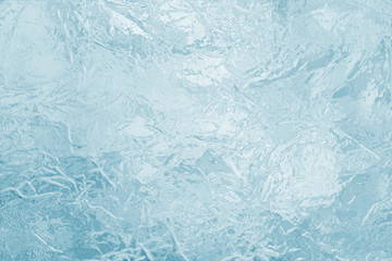 illustrated frozen ice texture Wall mural