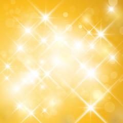 Vector glittering sparkling stars