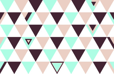 Netherlands Top Colors Background Triangle Polygon 2015 Vector Illustration
