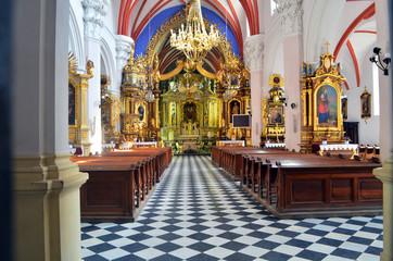 kościół wnętrze