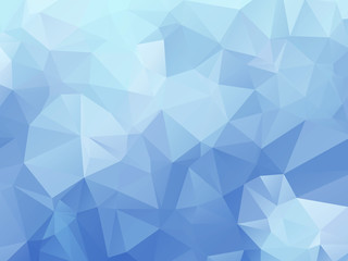 Powder blue triangle background