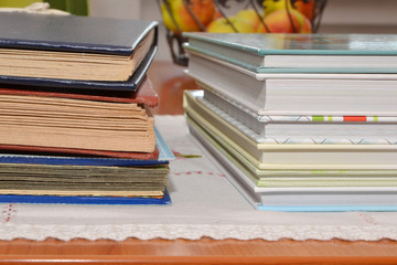 Photobooks and old albums