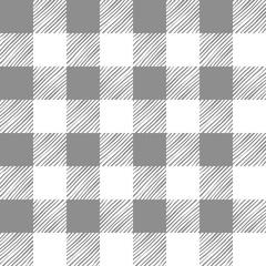 Seamless texture of gray plaid