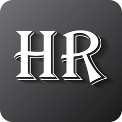 Human resources sign icon. HR symbol. Workforce of business organization.