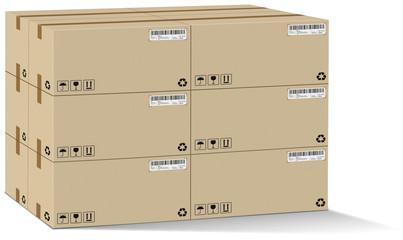 Carton pile 06