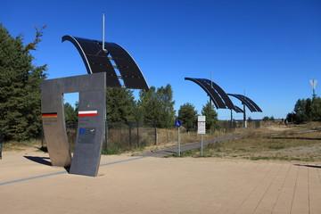 Grenze Deutschland Polen auf Usedom