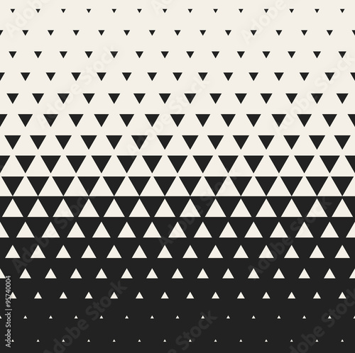 """Vector Seamless Black and White Morphing Triangle"