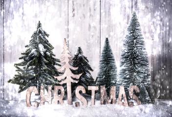 Christmas Weihnachtsbaum Karte