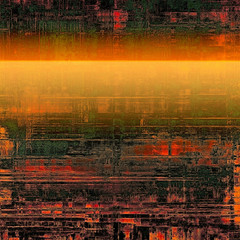 Abstract textured background designed in grunge style. With different color patterns: yellow (beige); brown; red (orange); green
