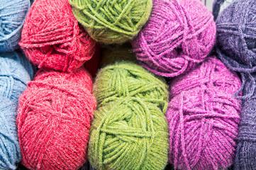 Balls of wool