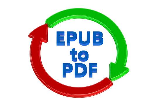 converting epub to pdf