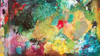blur acrylic painting