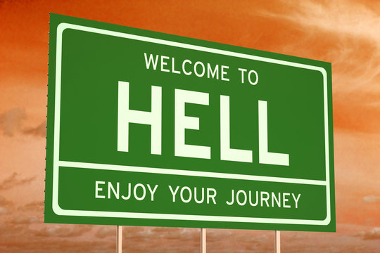 Welcome to Hell concept
