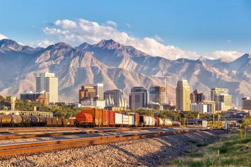 Downtown Salt Lake City, Utah Wall mural