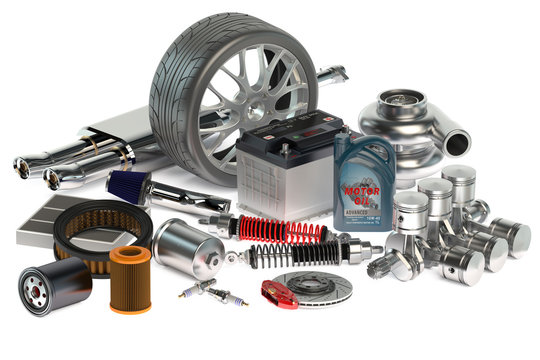 set of Car parts