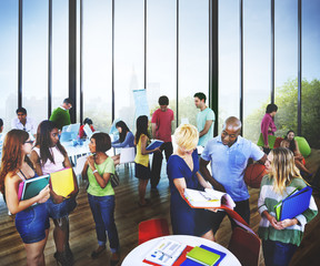 University Group People Communication Education Concept
