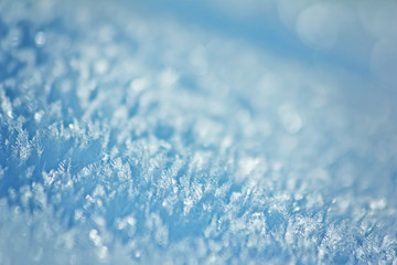 Funkelnde Eiskristalle