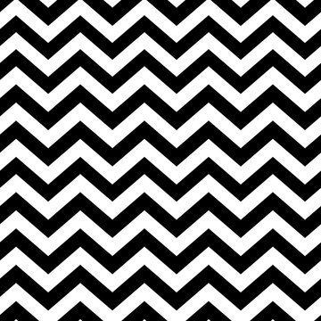Chevron seamless pattern. Black and white
