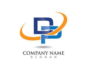 D p letter logo