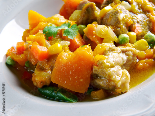 """Pumpkin pork stew"""" Stock photo and royalty-free images on Fotolia ..."""