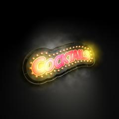 Cocktails Leuchtreklame R