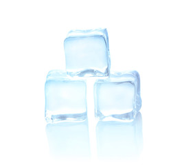 Ice cool on white background