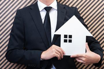 住宅販売 ビジネスマン