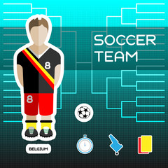 Belgium Soccer Team