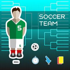 Iran Soccer Team