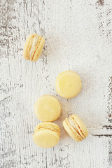 Scattered Macarons