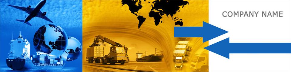 Freight template graphics header