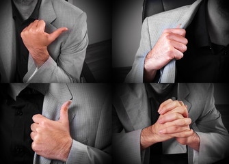 man body language