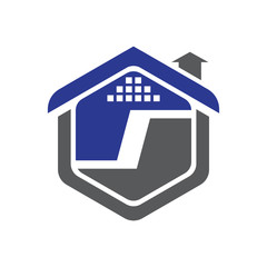 I Property Logo Vector