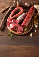various sausage