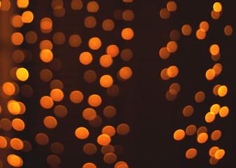 Night lights. City bokeh background