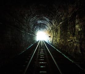 Poster Tunnel Railway tunnel