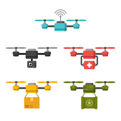 Air drone uses