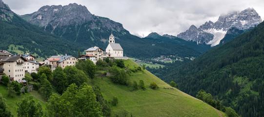 Colle Santa Lucia, italian alps