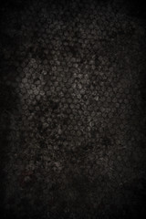 Black concrete textured background