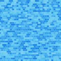 ブルーグラデーションのタイル背景 / ブルーのグラデーションタイルにボーダーを入れました。