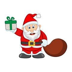 Santa Claus For Your Design Vector Illustration